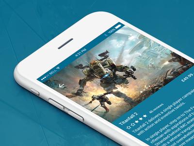 EA Access Mobile App ux ui ea design app access