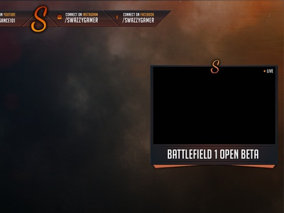 Battlefield 1 Twitch Overlay ux ui twitch