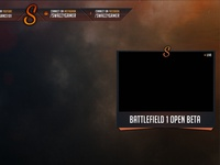 Battlefield 1 Twitch Overlay