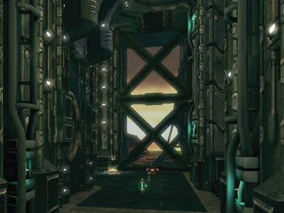 Research Facility - Unreal Ed max 3ds design 3d fahrenheit project game video engine unreal