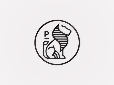 Practice Films Logotype logotype logo design sweden stockholm mark symbol sign lion