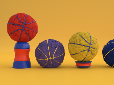Materials exploration graphic design render cycles blender 3d modelling 3d illustration