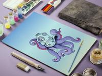 Ocean Creature Octopus