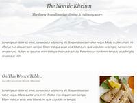 Restaurant Brochure Site (WiP)
