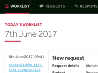 Worklist Dashboard