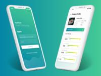 Health App UI