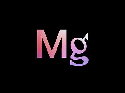 Monograph Communications Icon monogram clean color minimal font abbreviation colour icon