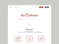 MyShows Redesign