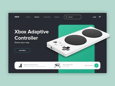 Xbox Store ecommerce controller web design webdesign uxui ux store xbox
