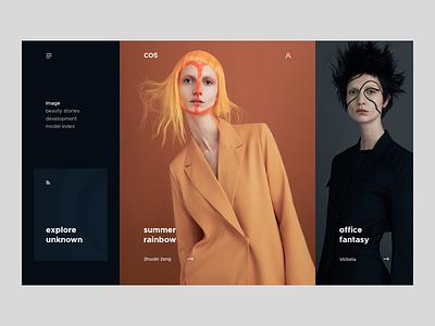 CO5 makeup photography fashion ui ux webdesign