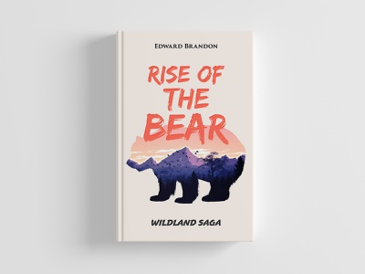 Rise of the Bear cover art bear animal illustration design editorial cover book