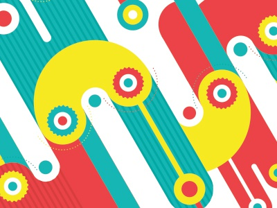 Color Engines engines color illustration abstract background bg pattern fun happy