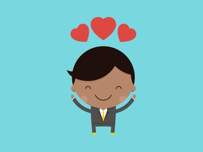 Little Groom groom wedding cake invite character avatar vector bride