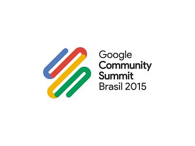 Google Community Summit Brasil 2015 colors lines icon brasil summit community google logo