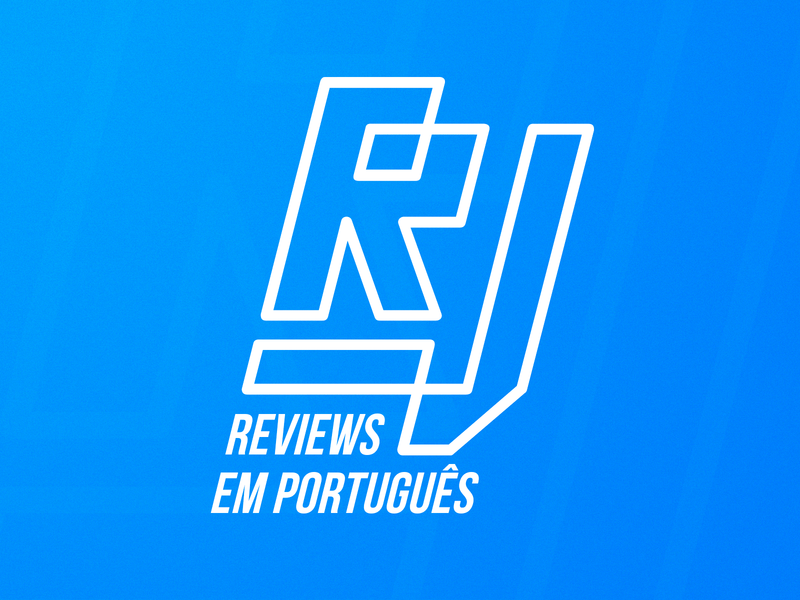 Roberto Jorge | Logotype lines blue influencer rejected videos tech logo brand branding rj letter j letter r tecnology tech youtube youtuber portugal logo mark identity logo logotype