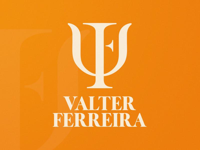 Valter Ferreira | Logotype logo brand mark logo design logo design branding logo design concept psychologist letter f letter v clinical psychology smart logo logo mark brand logotype logo identity branding