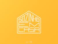 Sozinho em casa | Logotype