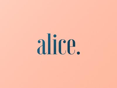 Alice | Logotype