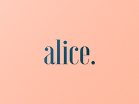 Alice | Logotype