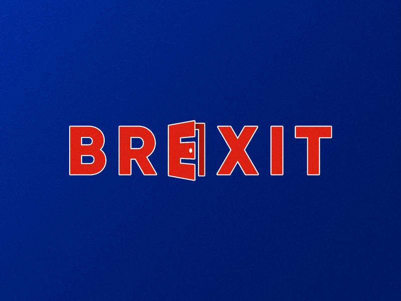Brexit | Logotype Concept logo concept creative brexit london uk logo design concept logo design smart logo logo branding identity