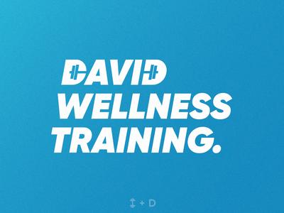 David Wellness Training   Logotype