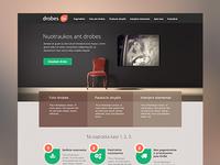 Canvas printing service web design