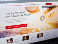 The Elevation Group web design