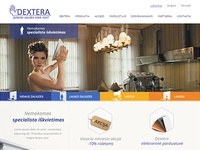 Web design for window blinds and screens manufacturer