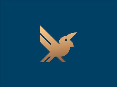 Raven crow bird logo bird raven logo design logo mark