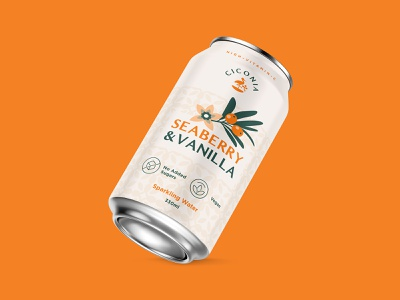 CiconiaPackaging Design stork soda can drink health vitamin c sallow thorn seaberry branding design branding