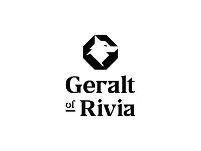 Geralt of Rivia letter mark logo netflix geralt witcher
