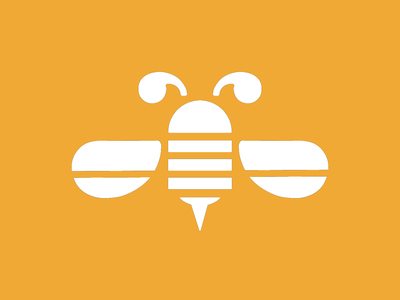 Beescribe Concept Logo logo design identity illustration logo
