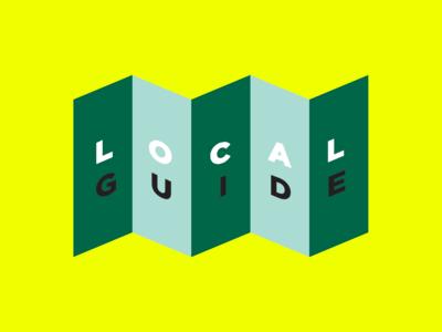 Localguide Concept Logo branding app branding digital design localguide illustration logo