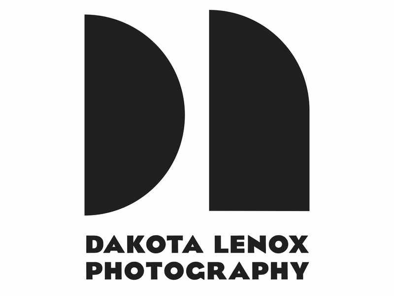 Dakota Lenox Photography - Logo branding logo design concept personal logo photography logo design