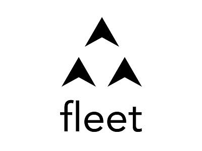 Fleet Logo branding design logo mark type uidesign branding logo