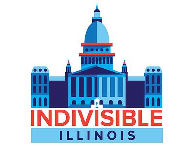 Indivisible Logo logo nonprofit