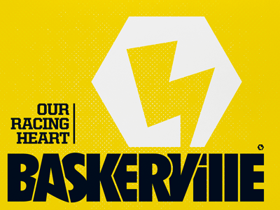 Baskerville singles baskerville logo icon subalpin recordsleeve housestyle