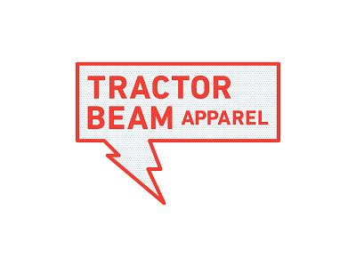 Tractor Beam Apparel apparel identity branding logo