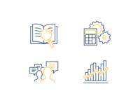 Economics Training Iconography