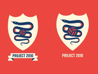 Logo feedback? illustration sports sport snake crest badge logo football soccer
