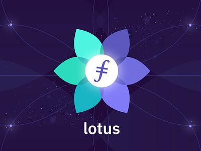 Lotus logo branding brand illustration logo designer protocolalbs filecoin lotus logo