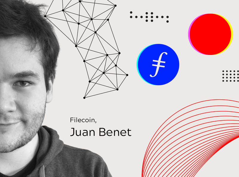 Q and A session with Juan Benet illustration decentralization decentralized logodesign protocol labs banner branding filecoin