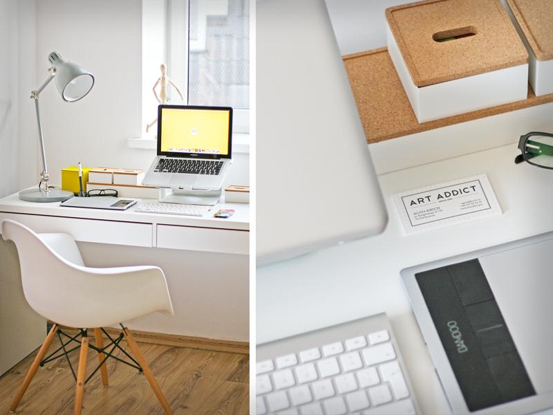 My brand new workspace workspace photo
