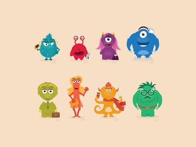 New monster family