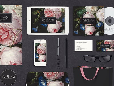 Brand stationery for photographer