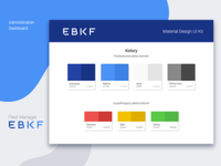 EBKF Administration Panel UI Kit