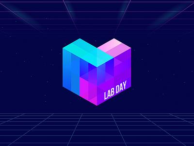 Lab Day Logo San Francisco 2018 decentralization cube ipfs protocol labs san francisco event lab day logo