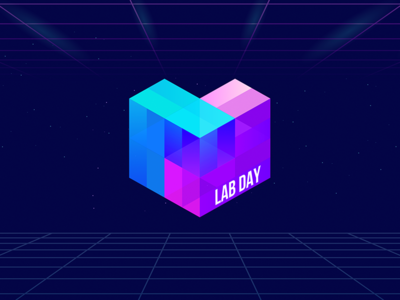 Lab Day Logo San Francisco 2018 decentralization cube ipfs protocol labs san francisco event lab day logo