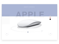 Apple Mouse Minimalistic Concept