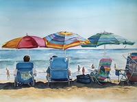 Beach Umbrella Series